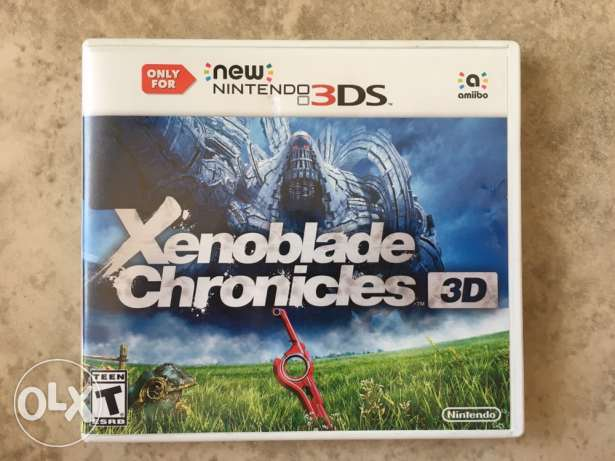 Xenoblade Chronicles Nintendo 3ds