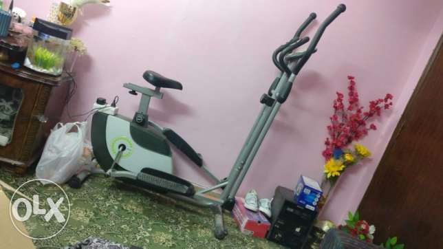 Live Gear Magnet Elliptical Exercise Bike