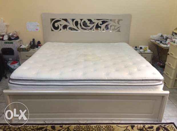 Bedroom Set with luxurious mattress.