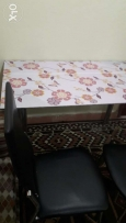 Tabel with 2 chair 5 KD
