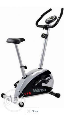 Wansa Calorie/Pulse Exercise Bike العارضية -  1