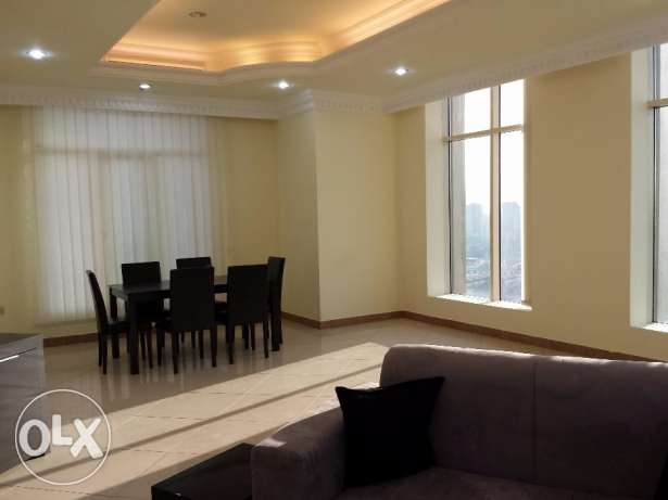 3 Bedroom sea view flat for rent in salmiya KD 900