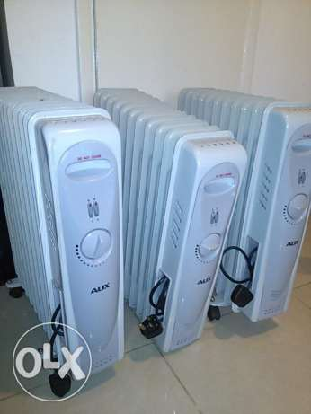 AUX oil heaters x3 مهبولة -  1