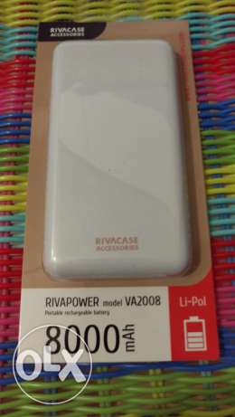 Brand New Rivapower Powerbank 8000mAh