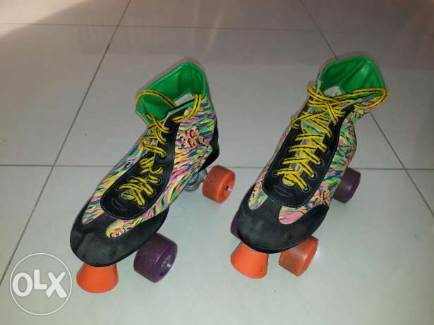 Roller Skates in Good Condition (Size - 9.5)