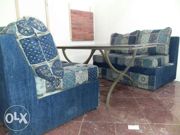 Well maintained good condition sofa for sale السالمية -  1