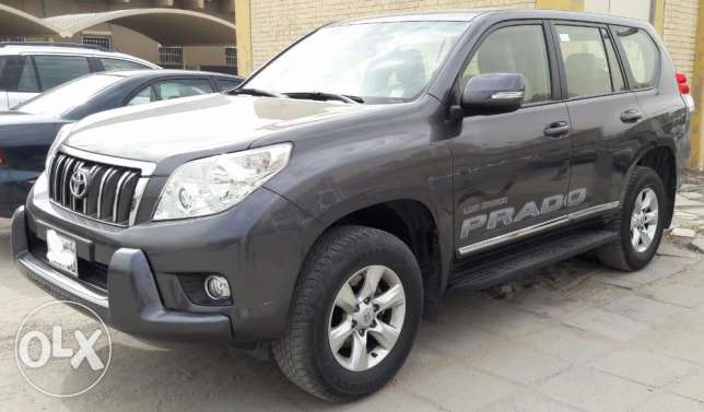 Prado TX-L Full Option with sunroof 48000km only Dec 2013 model.