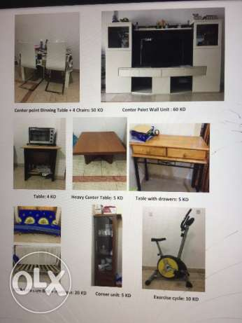 Furniture & home appliances house hold items