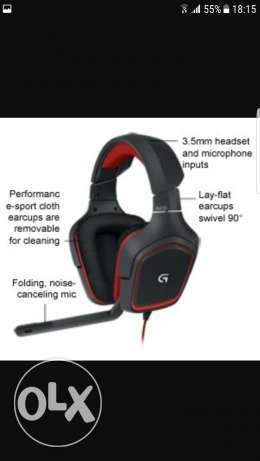 Gaming headset for pc and ps4 for sell