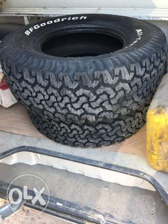275/70/R16. 119/116S. 4 tyre good condition