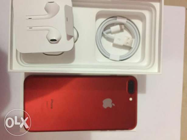 Iphone 7 plus 128 red color Use only 5 days