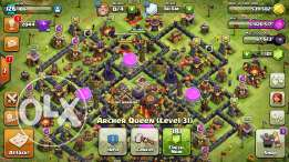 Clash of clan town hall 10 for sale