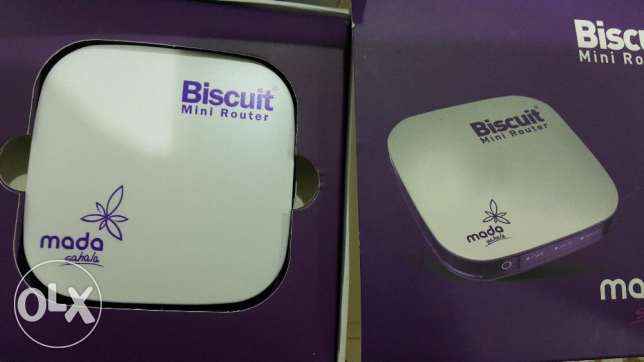 Mada Sahala Biscuit Mini Router (as good as NEW)