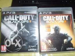 PS3 GAMES-call of duty 2& 3 for sale /exchange