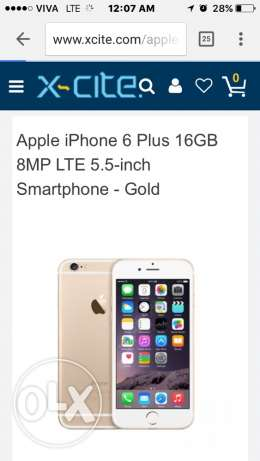 Brand New IPhone 6 plus 16 g old حولي -  4