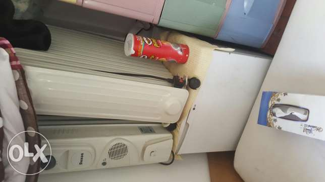 Fridge and heaters working condition