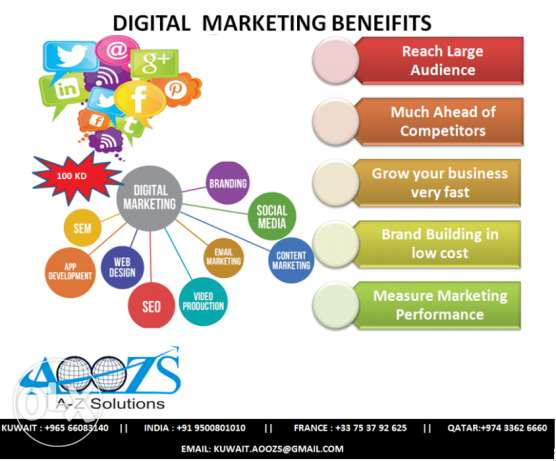 Digital Marketing ( Grow your business faster)