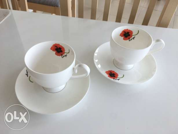 Kenzo coffee (tea) cup set from Japan by 15 June