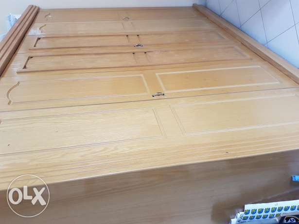 Six door wardrobes with 7racks, 2 hanger rods and 2 chest of 3 drawers