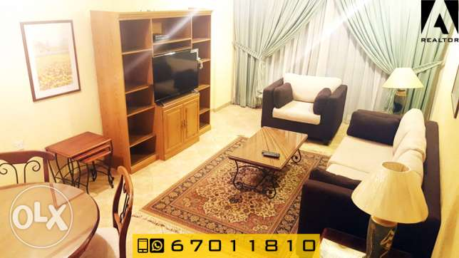 cozy one bedroom apartment furnished for rent in Salmiya السالمية -  1