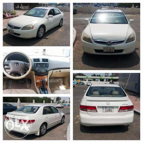 Honda Accord - 2003 White