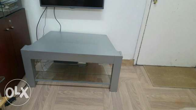 TV table and stools