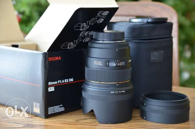 Sigma 85mm f/1.4 EX DG HSM for CANON
