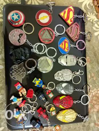 22 original key chain marvel