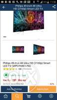 Philips brand new sealed pack led android smart tv for sale 4k ultraHD