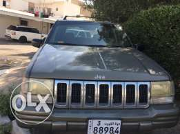 Jeep grand churuki 1998