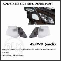 Adjustable Side Wind Deflectors