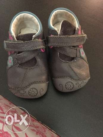 Clarks first shoes used for girls made in vietnam size Uk 3F