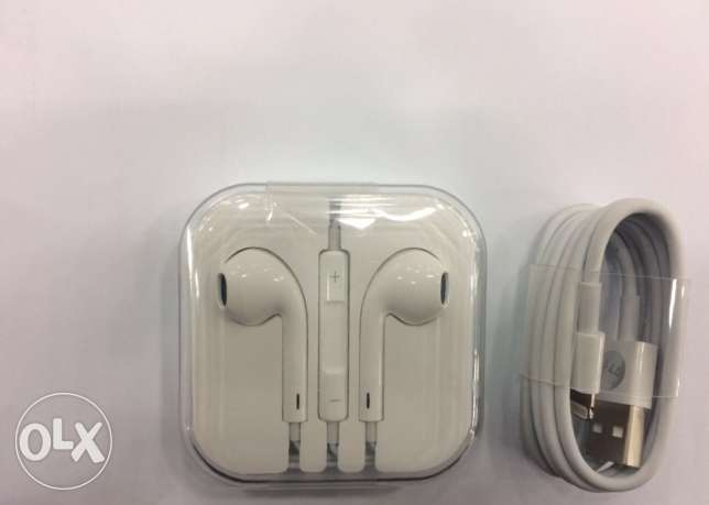 iPhone original usb / headset only 18 kd. iPhone7/7plus best prices