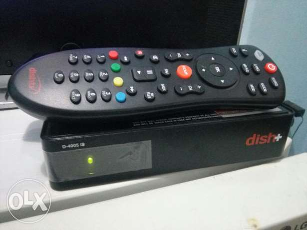Dish+ TV Receiver along with 4 channel LMB